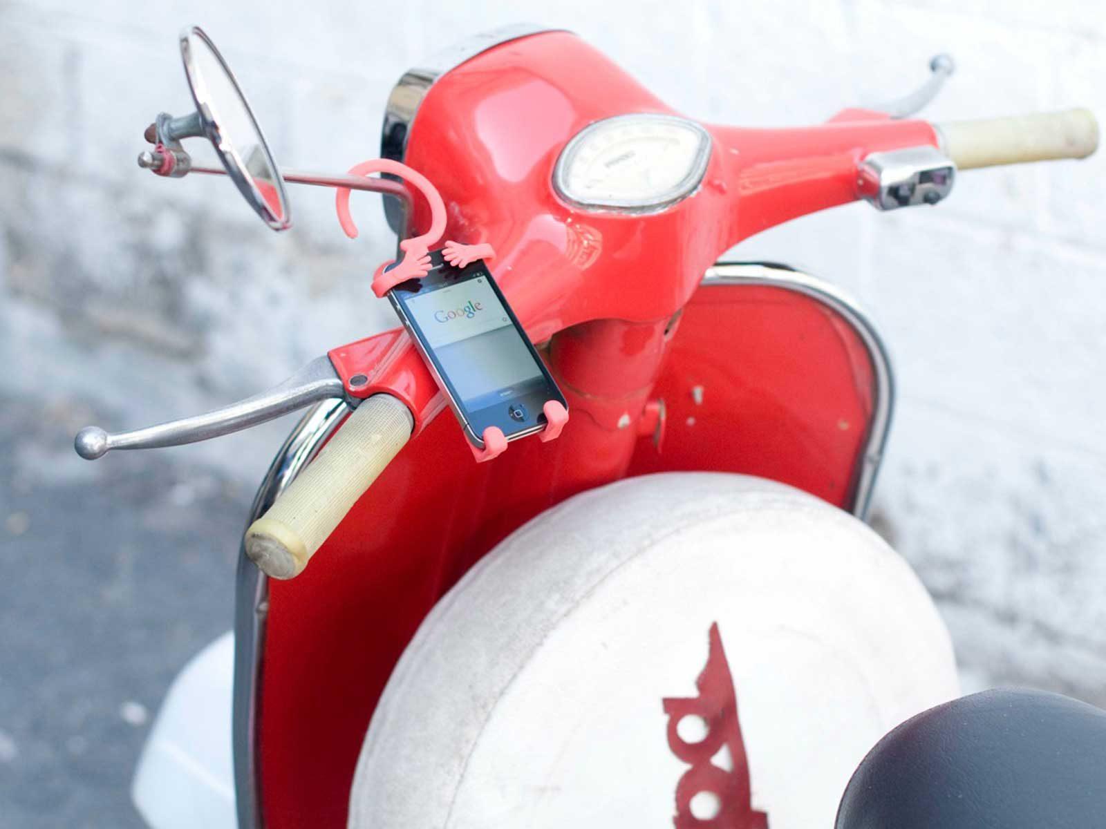מחזיק סלולר לקטנוע