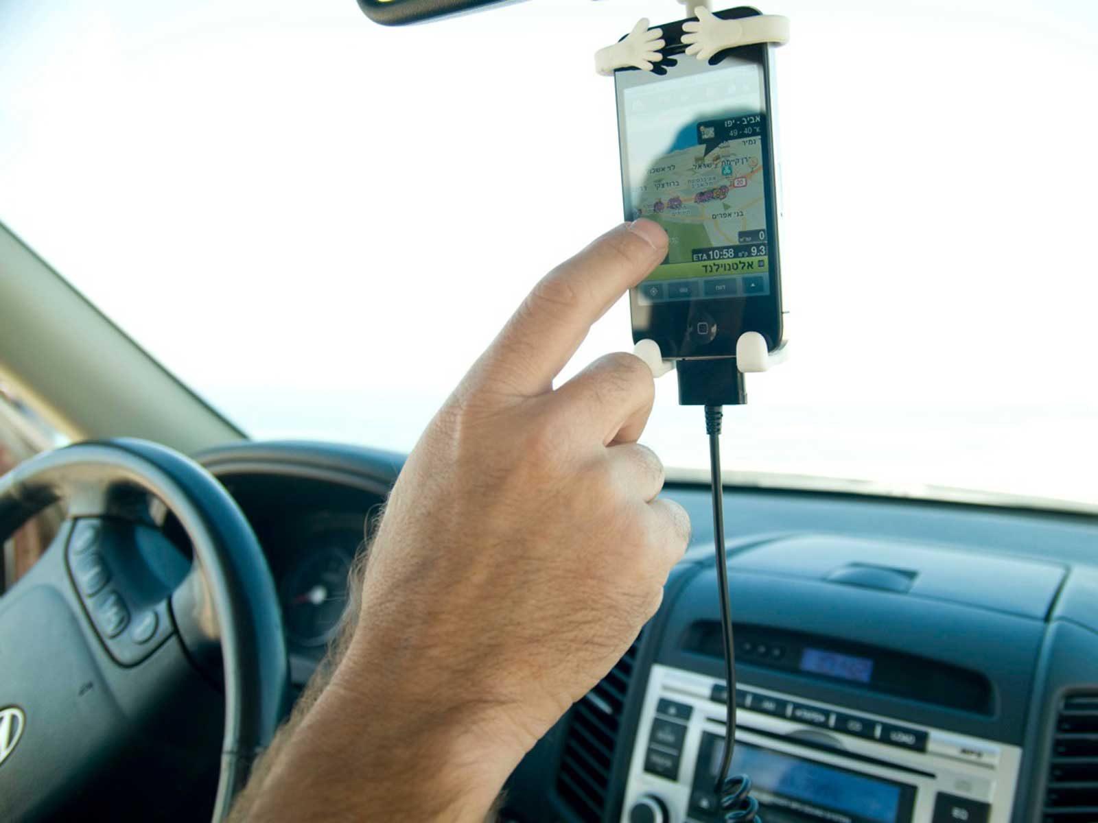 בונדי מחזיק סלולר לרכב