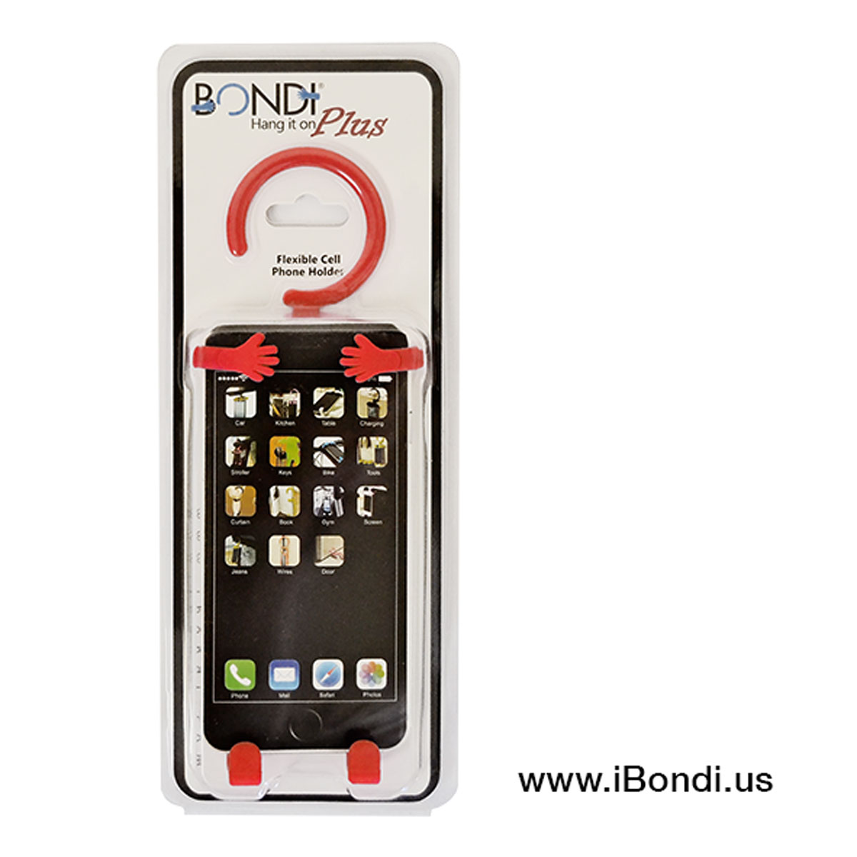Bondi Plus Red