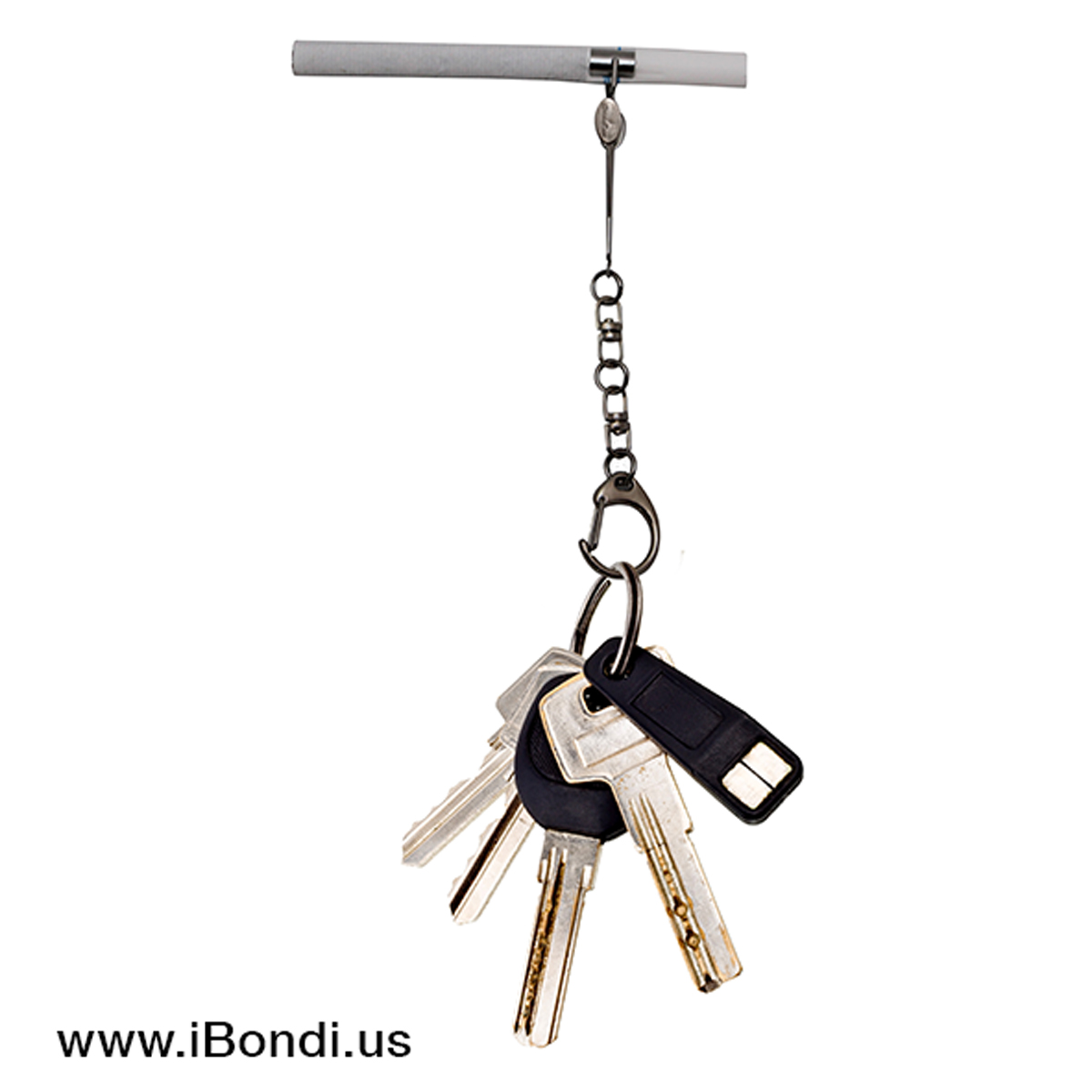 Smokease key holder with keys