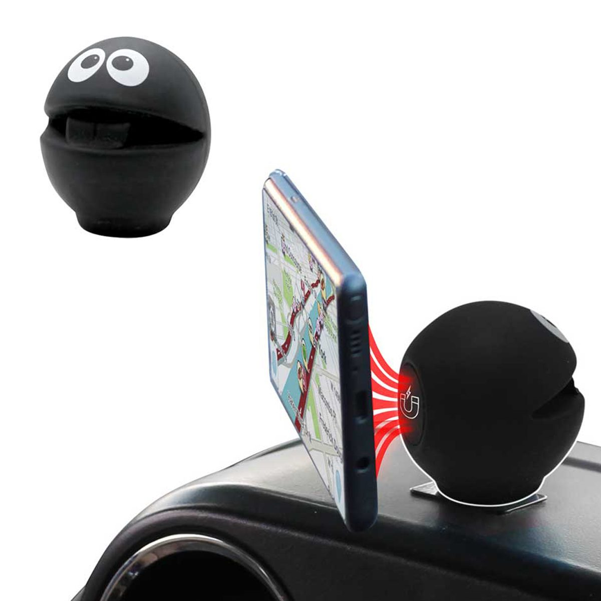 B-Ball Black cellphone holder
